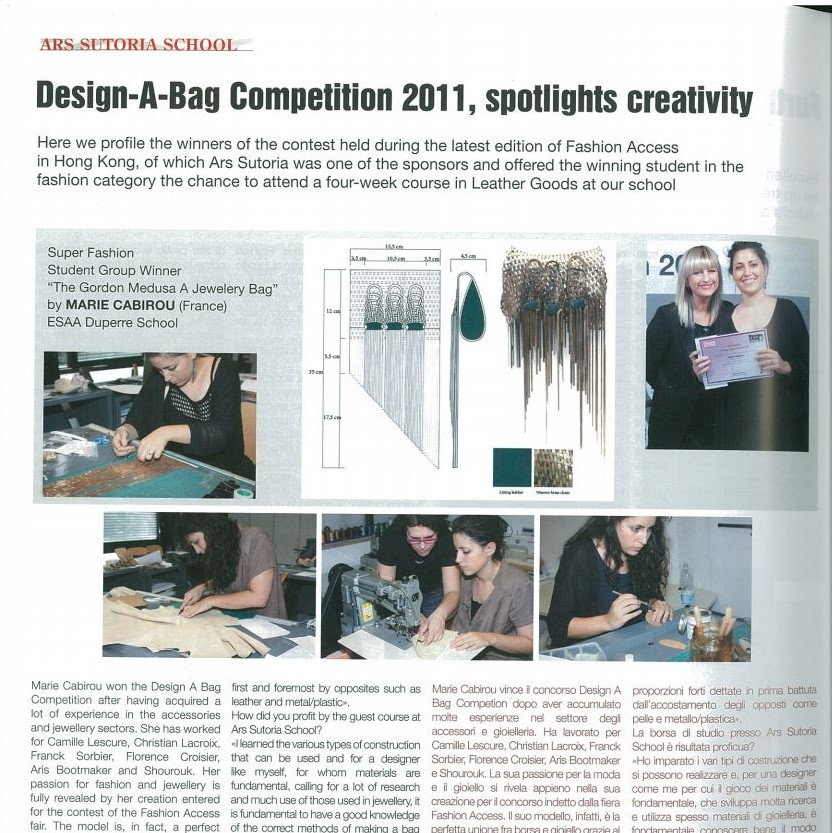 Design-A-Bag Competition 2011