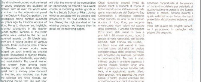 Design-A-Bag Competition 2012